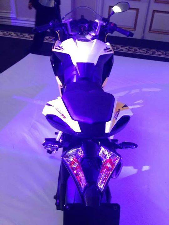 Bajaj Pulsar 200 SS fully revealed rear