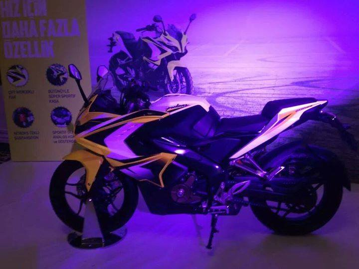 Bajaj Pulsar 200 SS fully revealed side