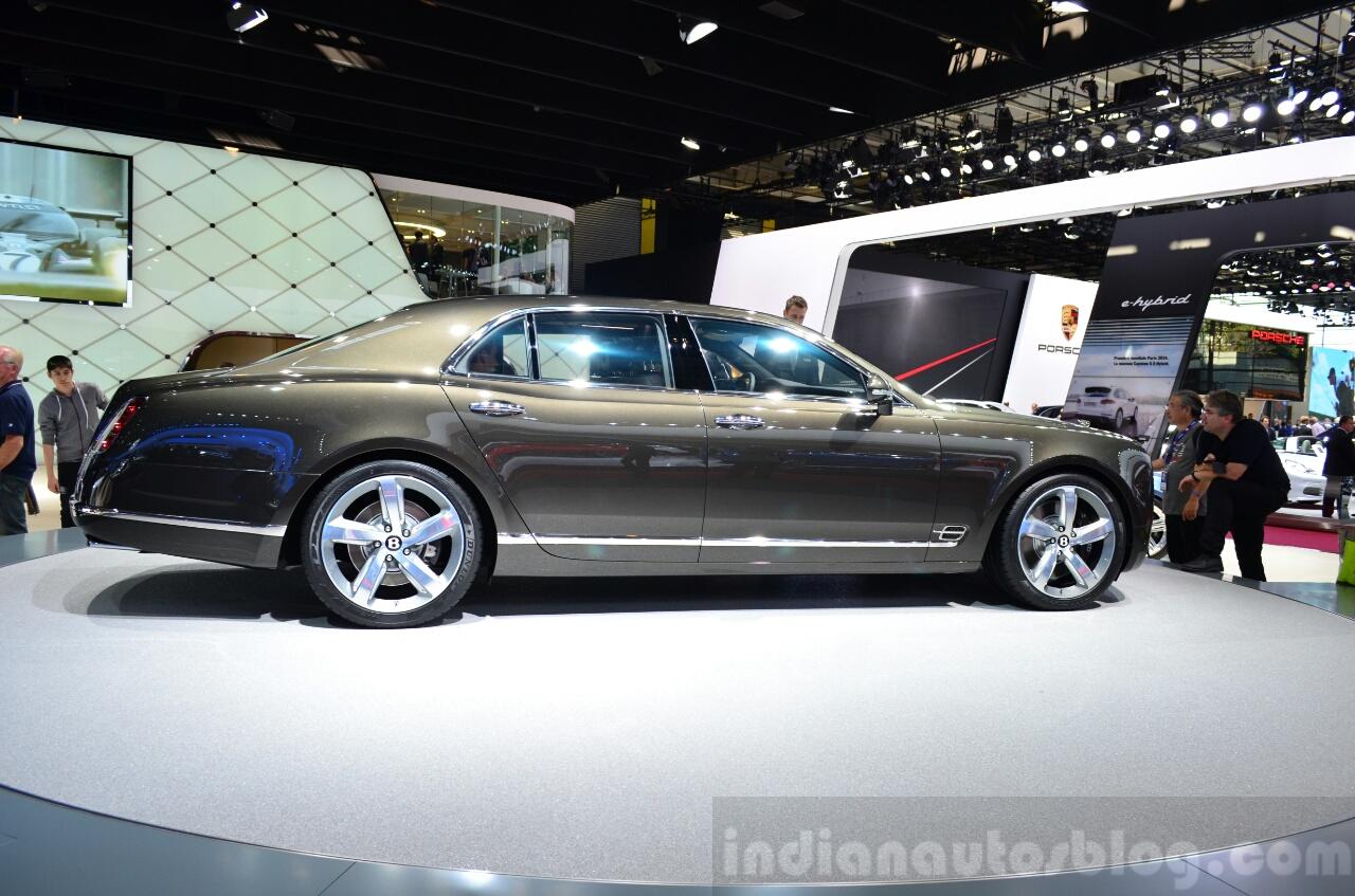 Bentley Mulsanne Speed profile view