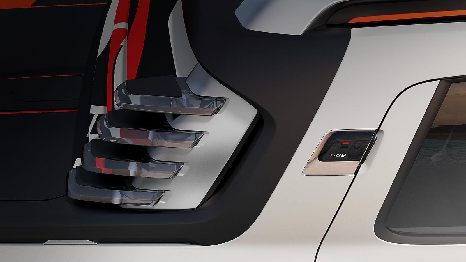 Renault Duster Oroch Concept camera press shot