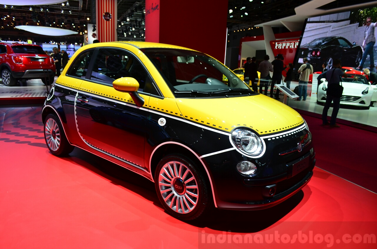 What Is Climate Control >> Fiat 500 Couture special editions - Paris Live
