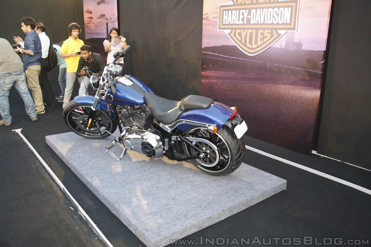 Harley Davidson Breakout rear three quarter