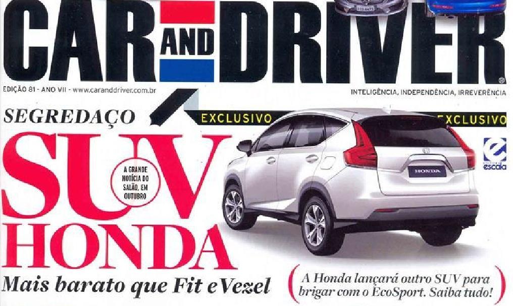 Honda Brio SUV rendering rear
