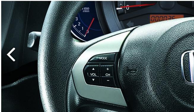 Honda Brio white cluster tacho