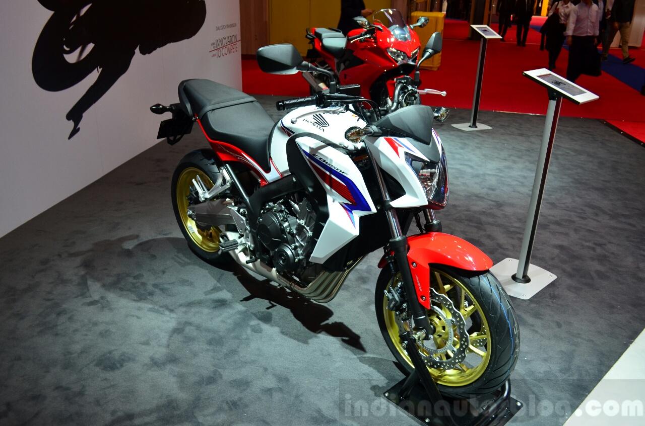 Honda CBR650F At The 2014 Paris Motor Show