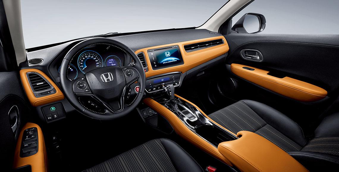 Honda Vezel China dashboard