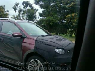 Hyundai Elite i20 Cross wheel spied