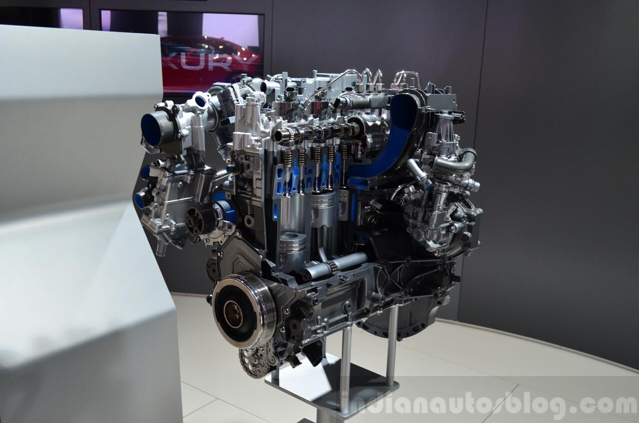 Jaguar Land Rover Ingenium Engine Family Showcased At Paris