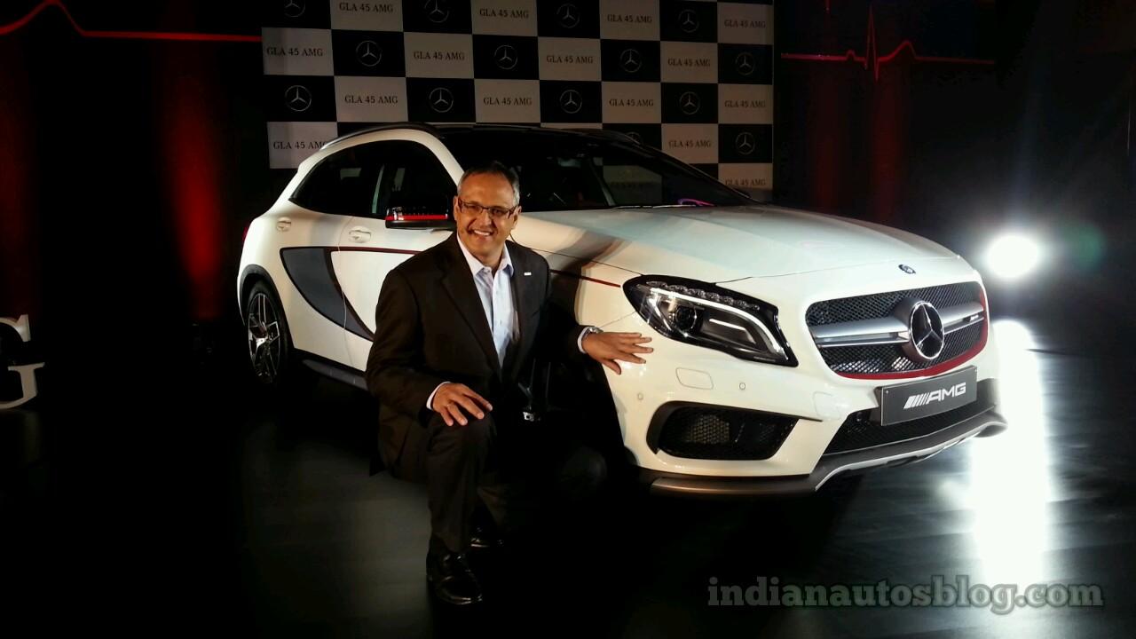 Mercedes GLA 45 AMG India launch live