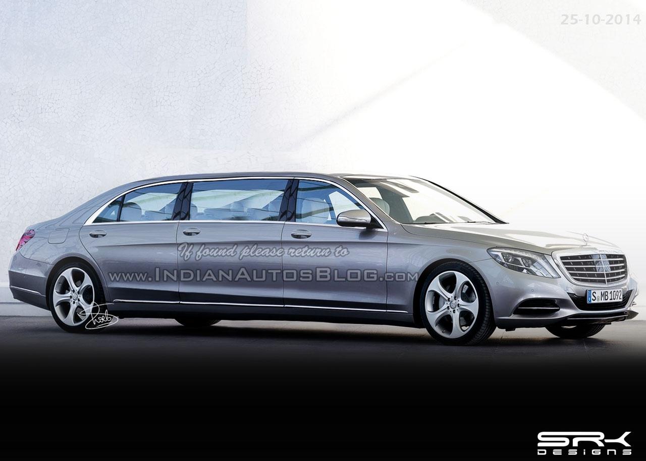 Mercedes S Class Pullman IAB rendering