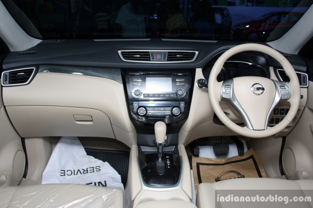 New Nissan X-Trail interior at the 2014 Colombo Motor Show Sri Lanka