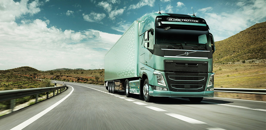 New Volvo FH front three quarter
