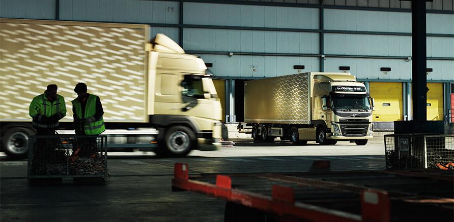 New Volvo FM cargo carrier