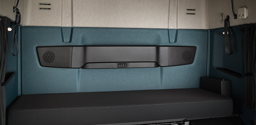 New Volvo FM sleeping berth