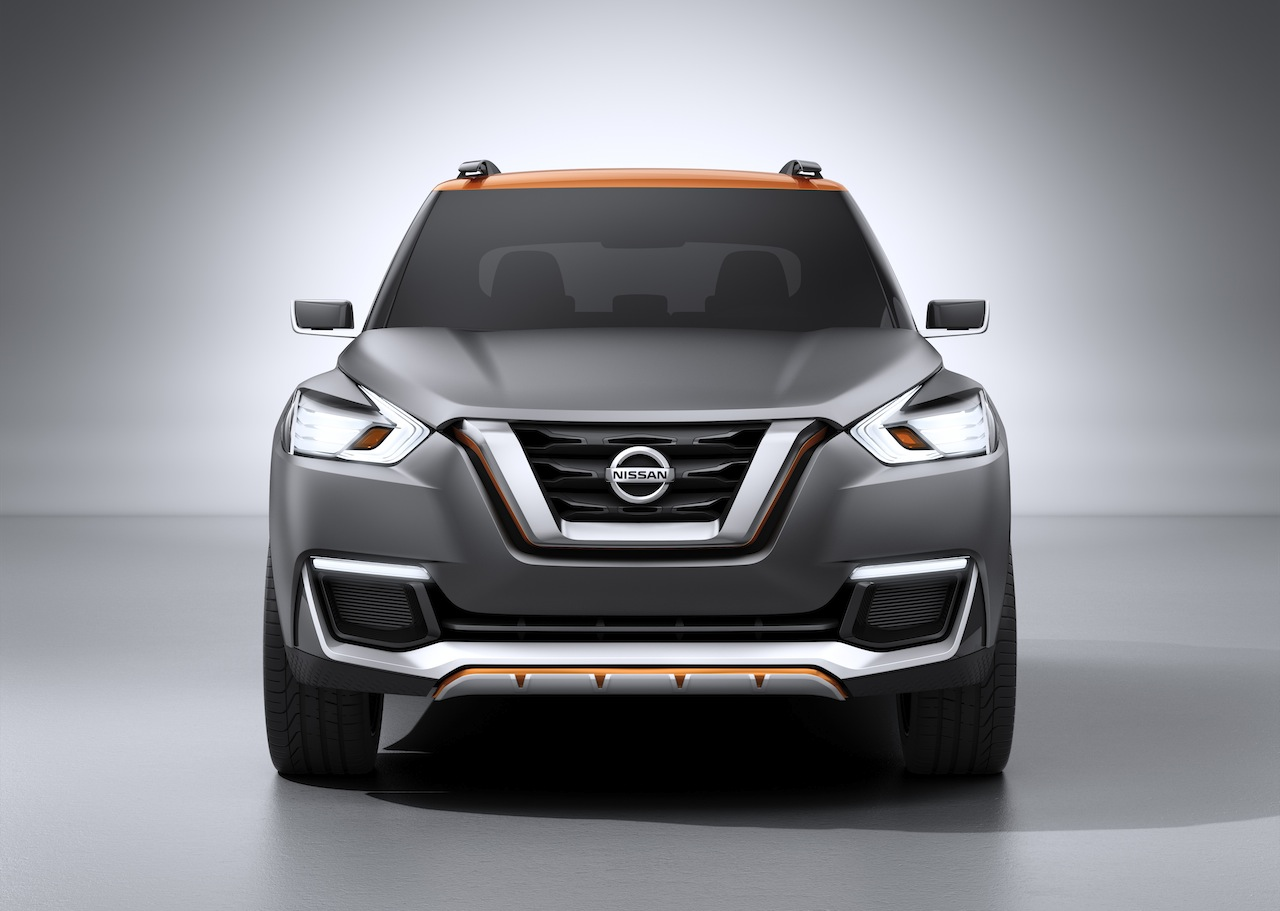 Nissan Kicks Concept front Press shot