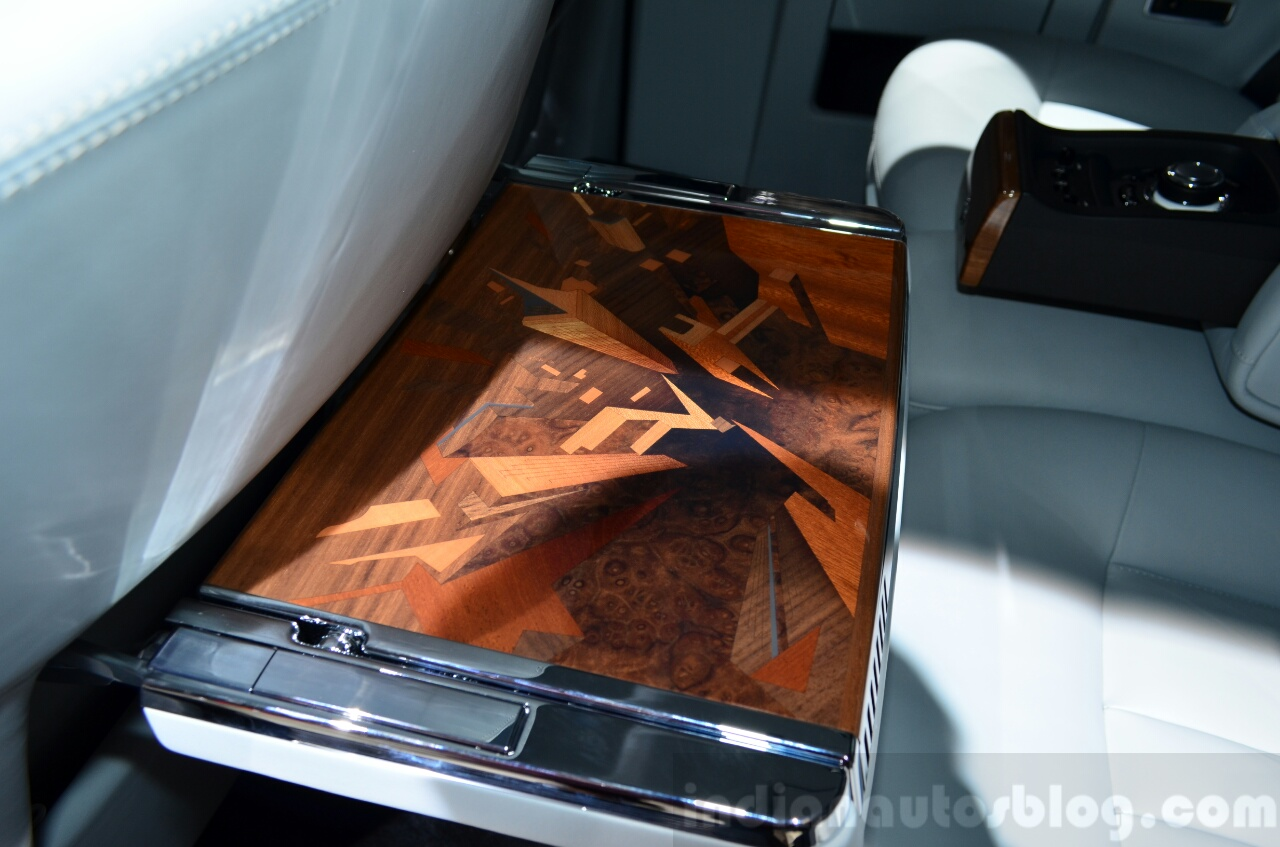 Rolls-Royce Phantom Metropolitan Collection picnic table at the 2014 Paris Motor Show