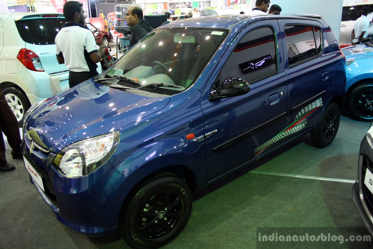 Elegant Suzuki Alto 800 Sport Edition Front Three Quarter At The 2014 Colombo Motor  Show Sri Lanka