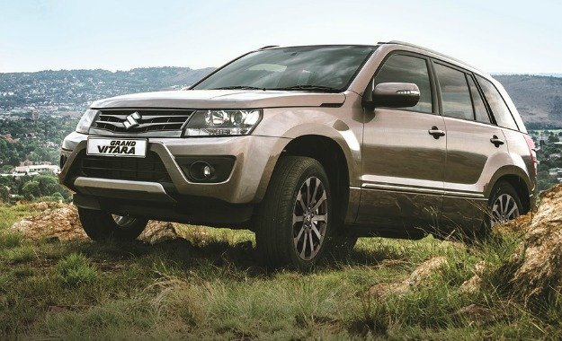 Suzuki Grand Vitara Summit press image front three quarters