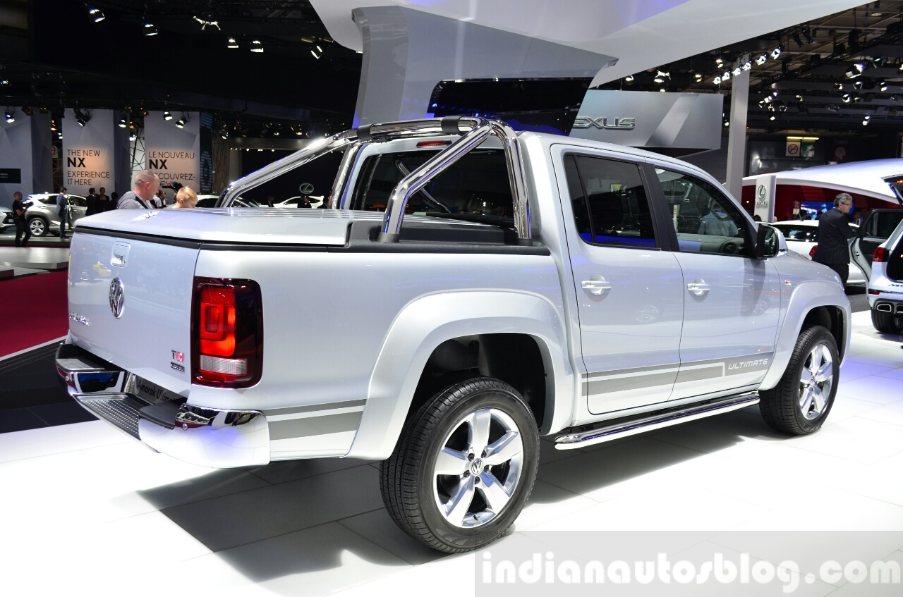 Vw Amarok Ultimate Paris Live