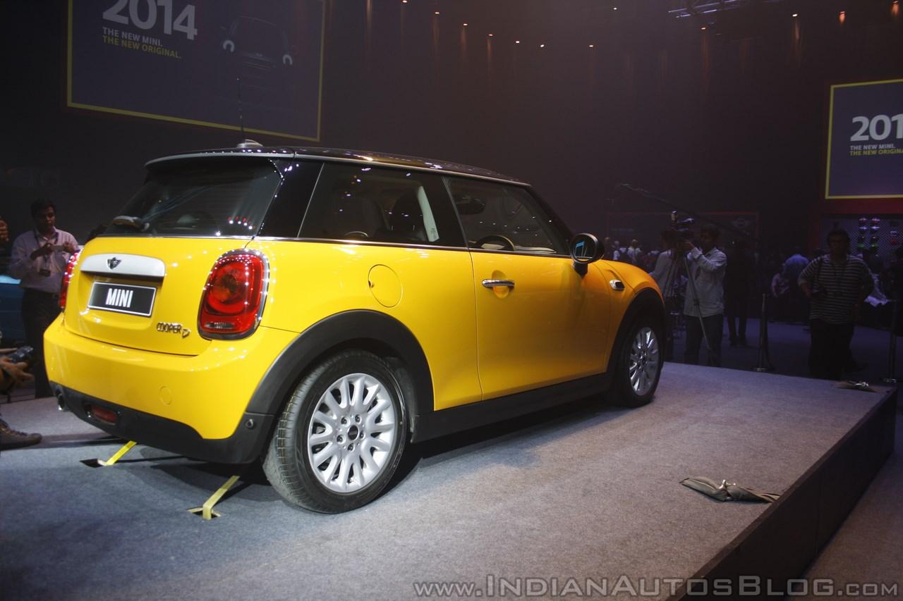 2014 Mini 3-door rear quarter launch