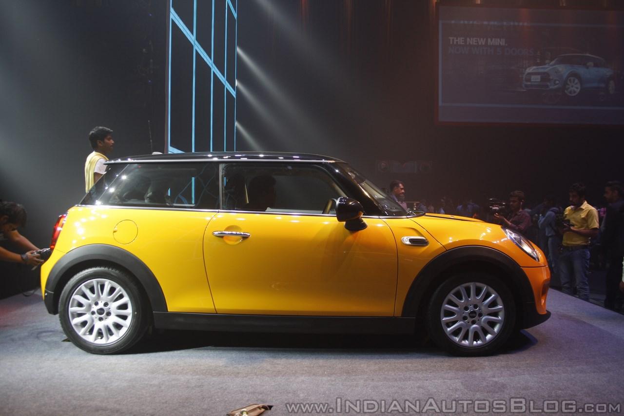 2014 Mini 3-door side launch