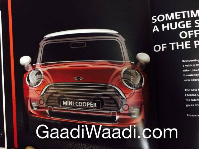 2014 Mini Cooper brochure scan