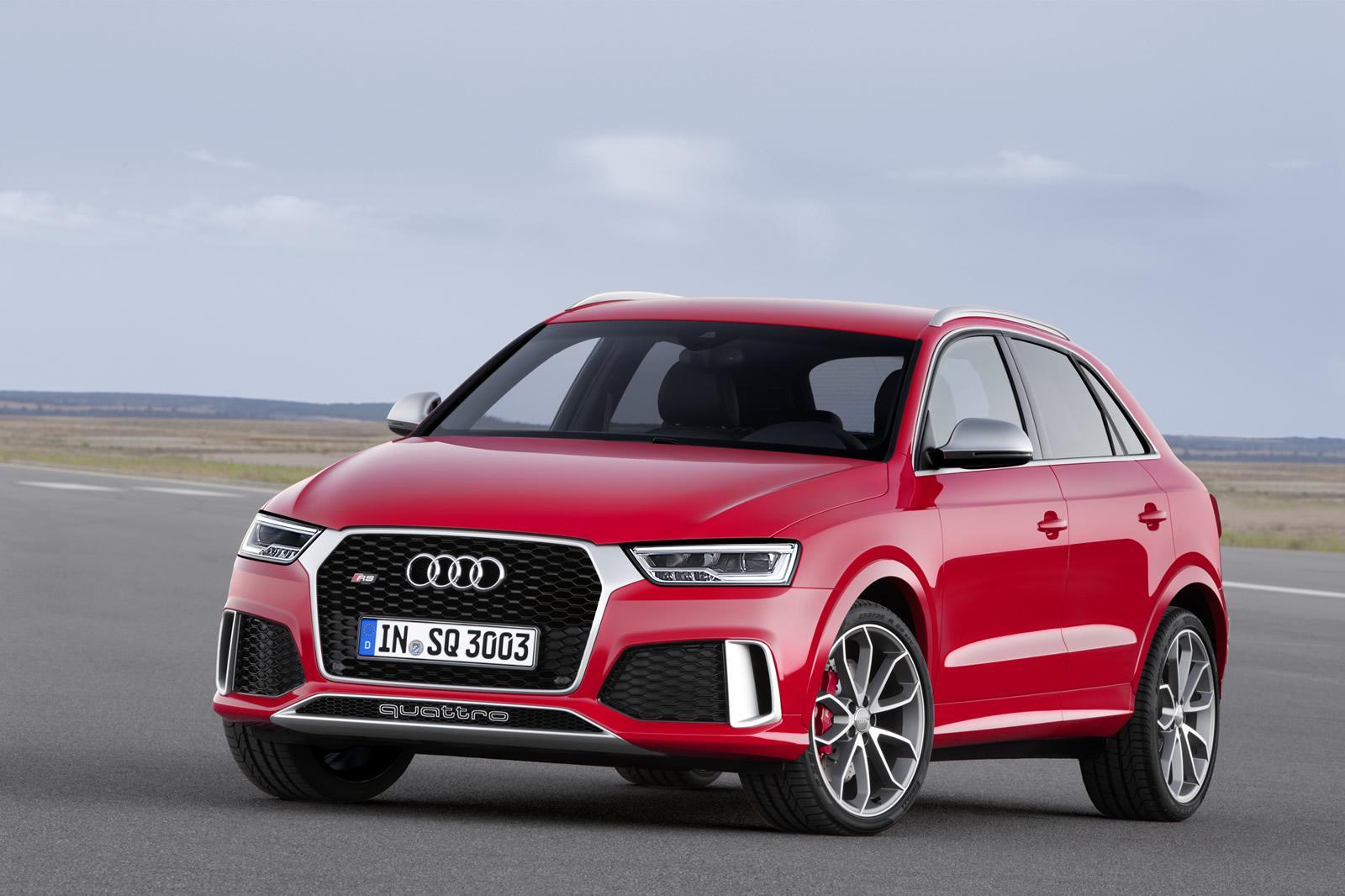 2015 Audi RS Q3 facelift front grille