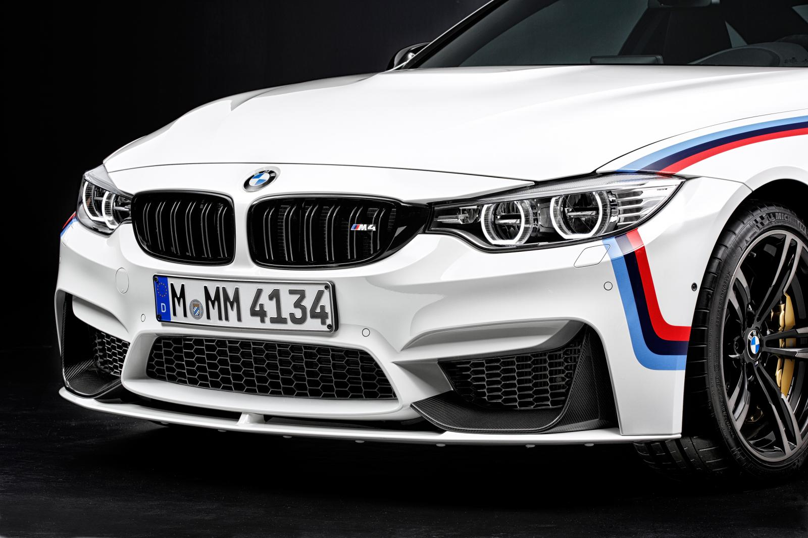 2015 BMW M4 with M Performance accessories bumper splitter