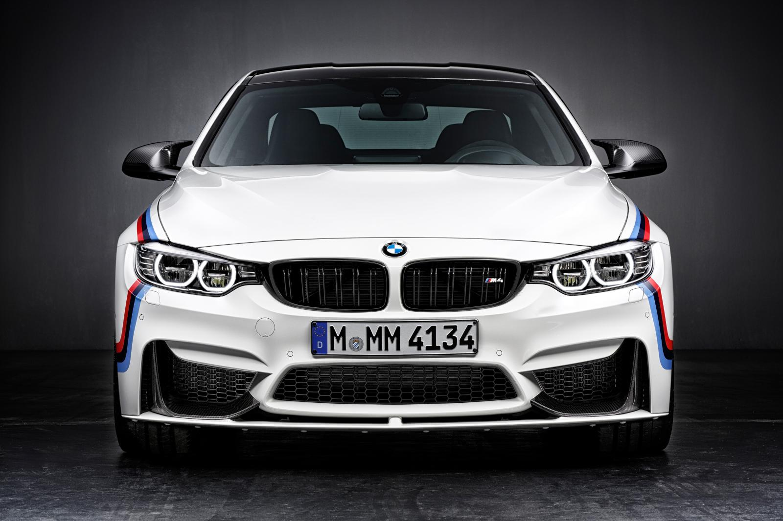2015 BMW M4 with M Performance accessories front