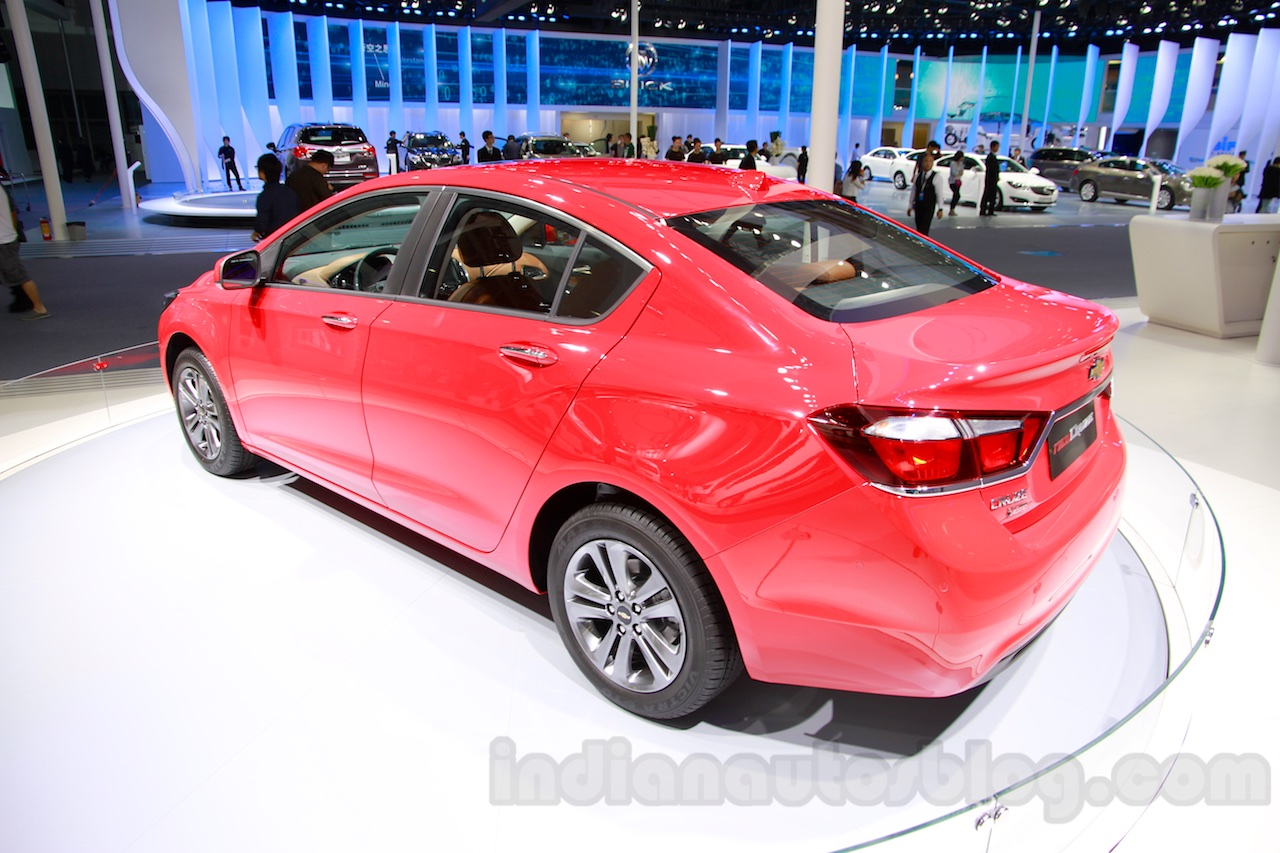 2015 Chevrolet Cruze rear quarters at Guangzhou Auto Show 2014