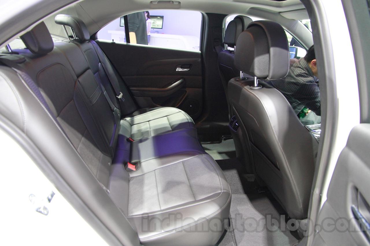 2015 Chevrolet Cruze rear seat at Guangzhou Auto Show 2014