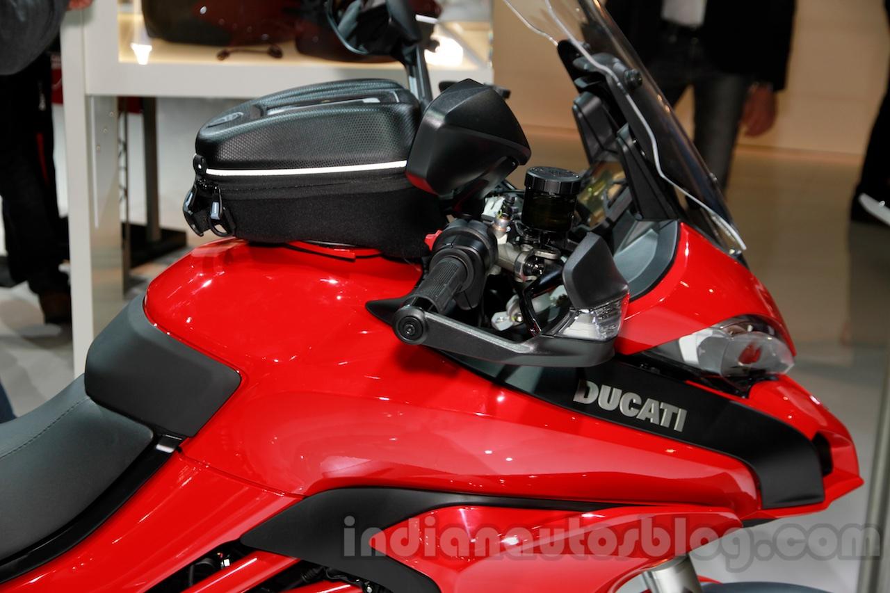 2015 Ducati Multistrada 1200 fuel tank at EICMA 2014