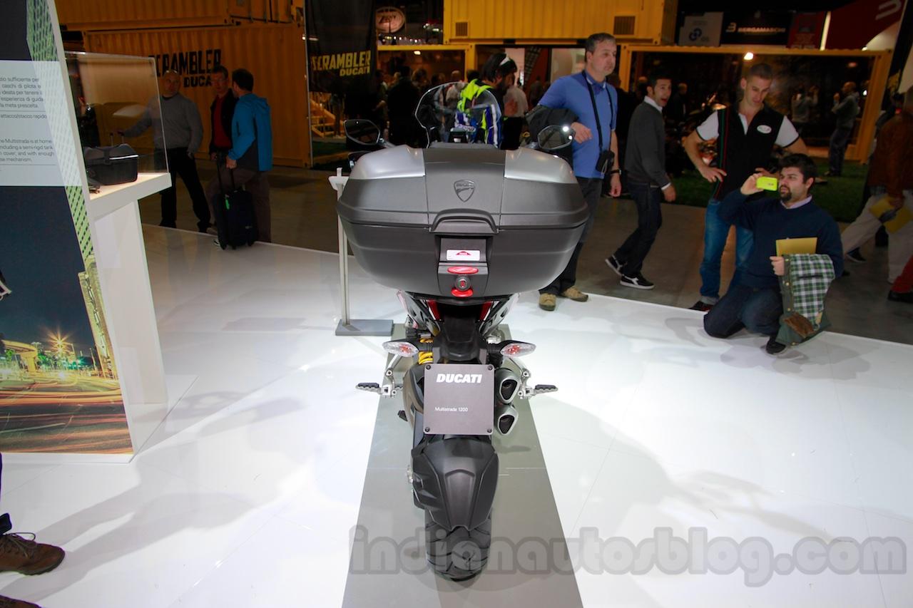2015 Ducati Multistrada 1200 rear at EICMA 2014