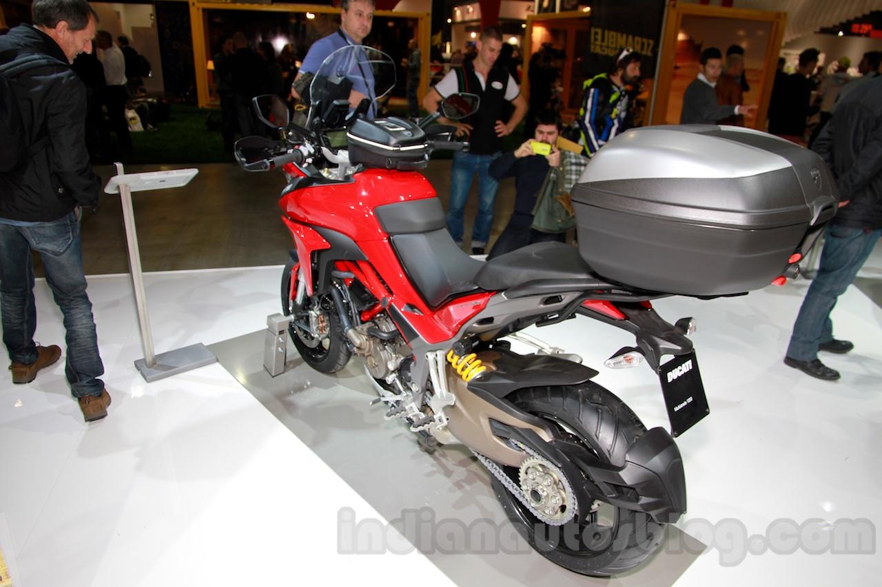 2015 Ducati Multistrada 1200 rear three quarters left at EICMA 2014