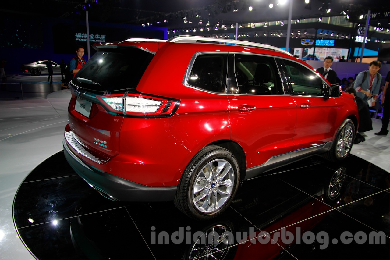 2015 Ford Edge LWB at 2014 Guangzhou Auto Show