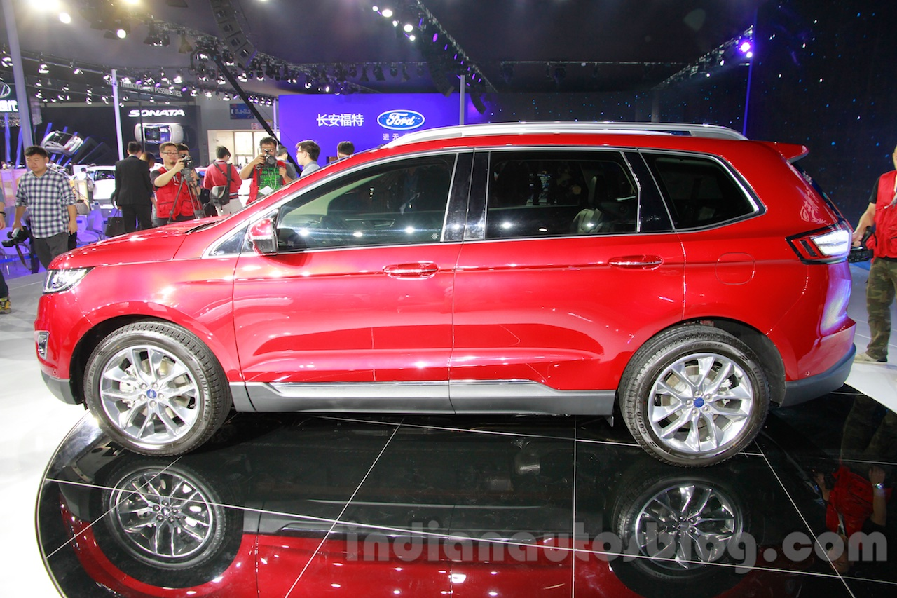 2015 Ford Edge LWB side at 2014 Guangzhou Auto Show