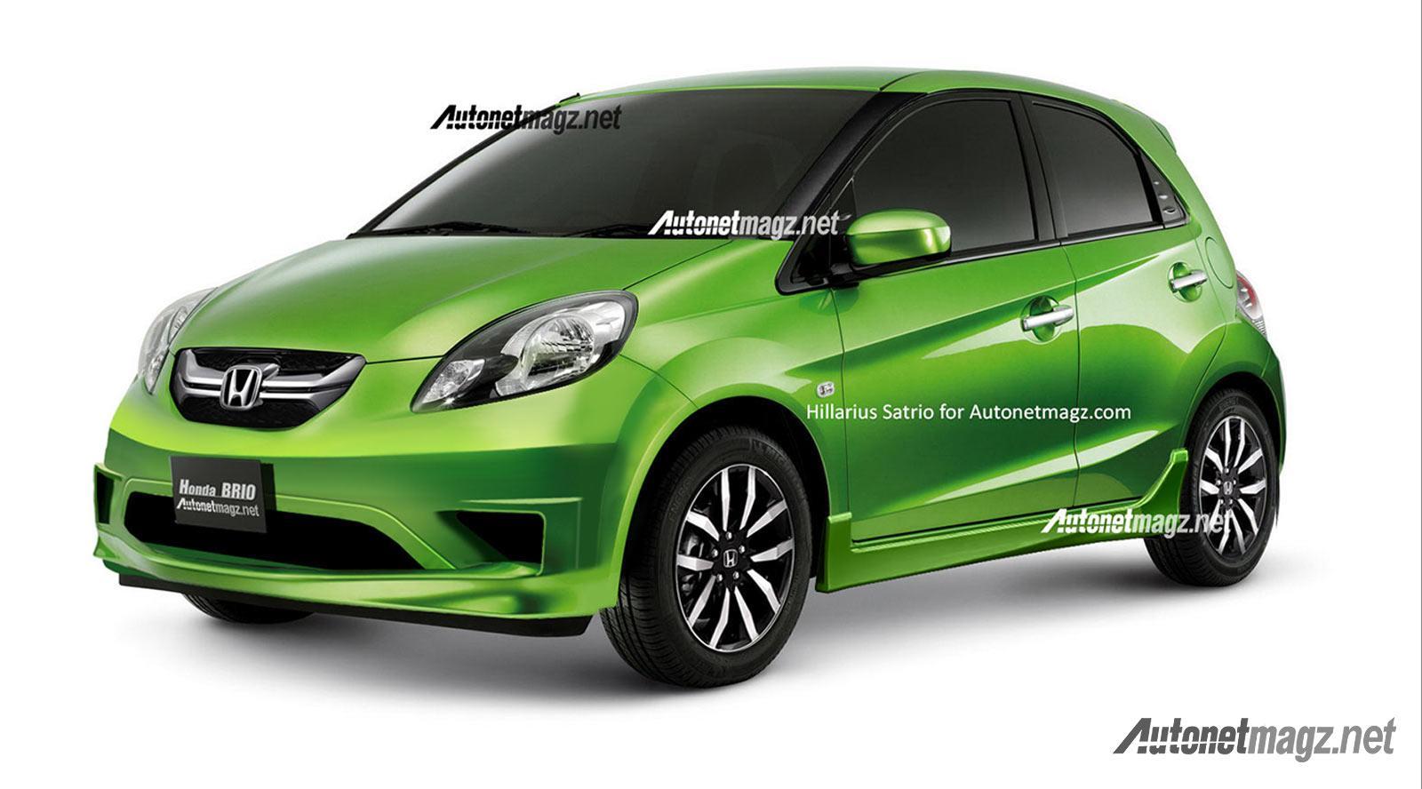 Rendering: Honda Brio Facelift