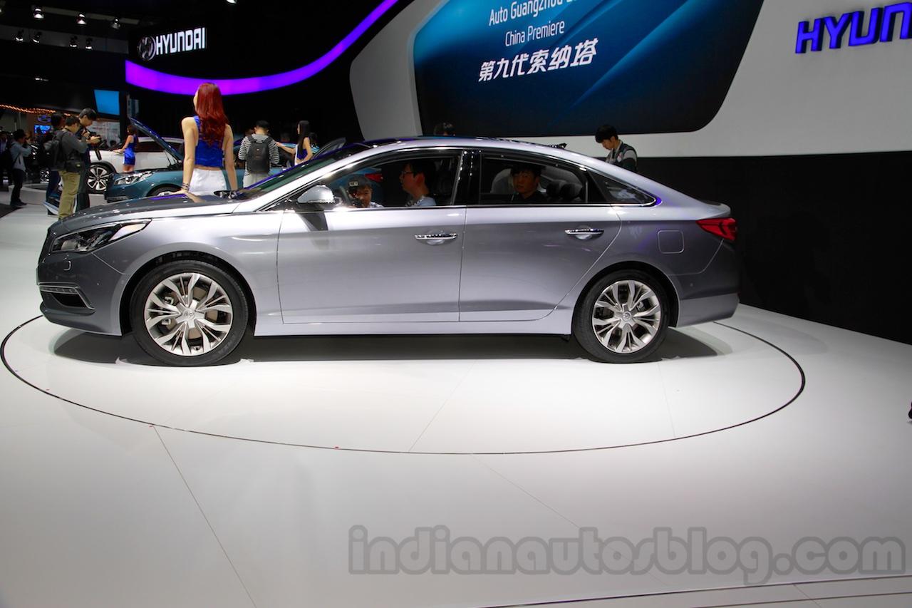 2015 Hyundai Sonata side at 2014 Guangzhou Motor Show