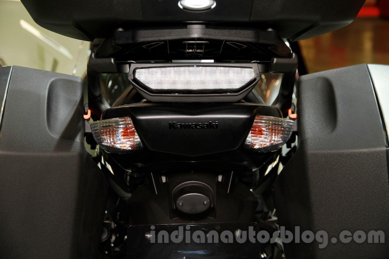 2015 Kawasaki 1400 GTR taillight at EICMA 2014