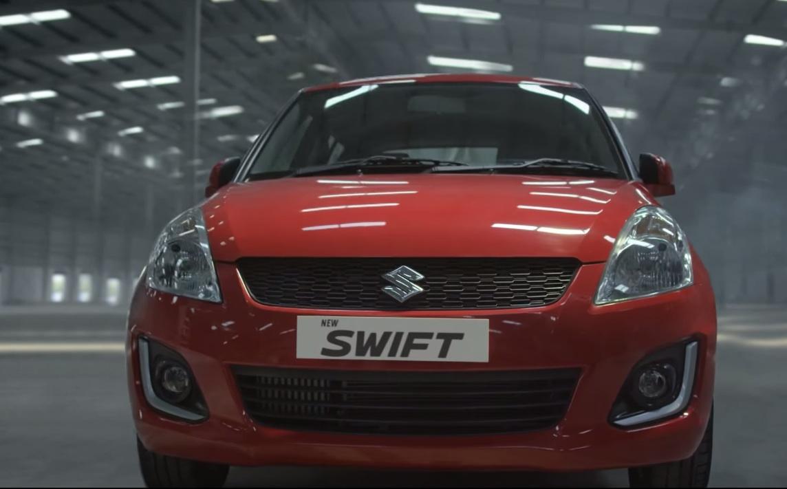2015 Maruti Swift facelift video