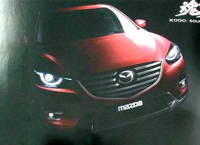 2015 Mazda CX-5 facelift front leaked