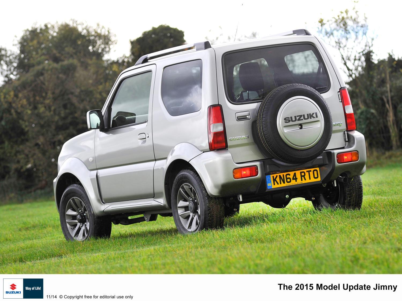2015 Suzuki Jimny rear quarter