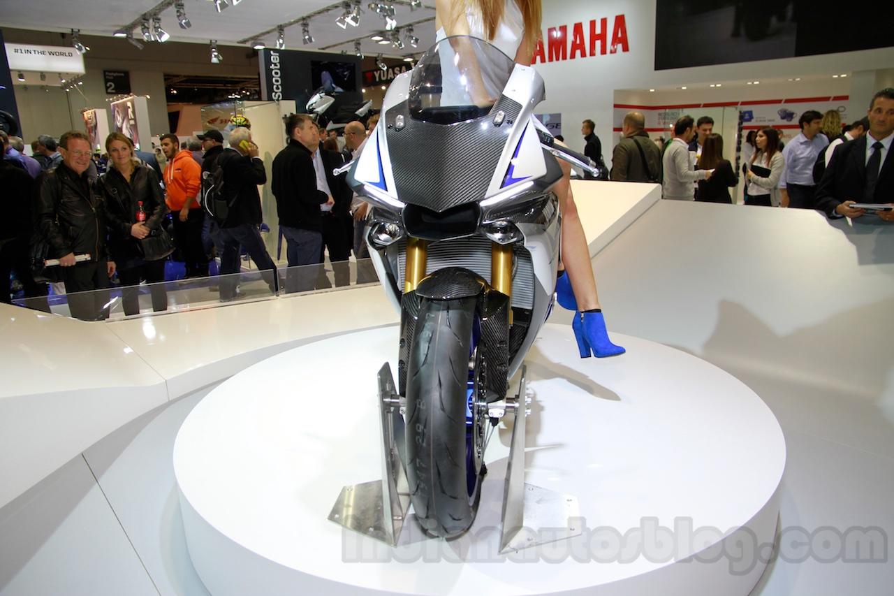2015 Yamaha YZF-R1 M front at EICMA 2014