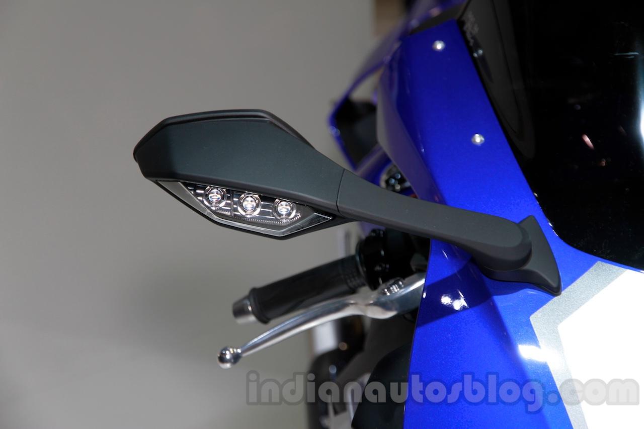 2015 Yamaha YZF-R1 wing mirror at EICMA 2014