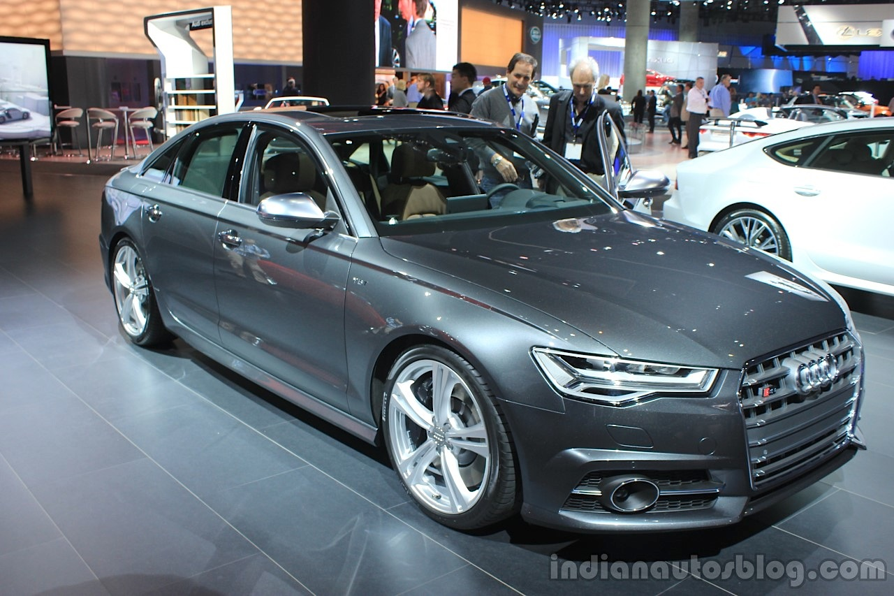Superior 2016 Audi S6 Front Three Quarters Left At The 2014 Los Angeles Auto Show