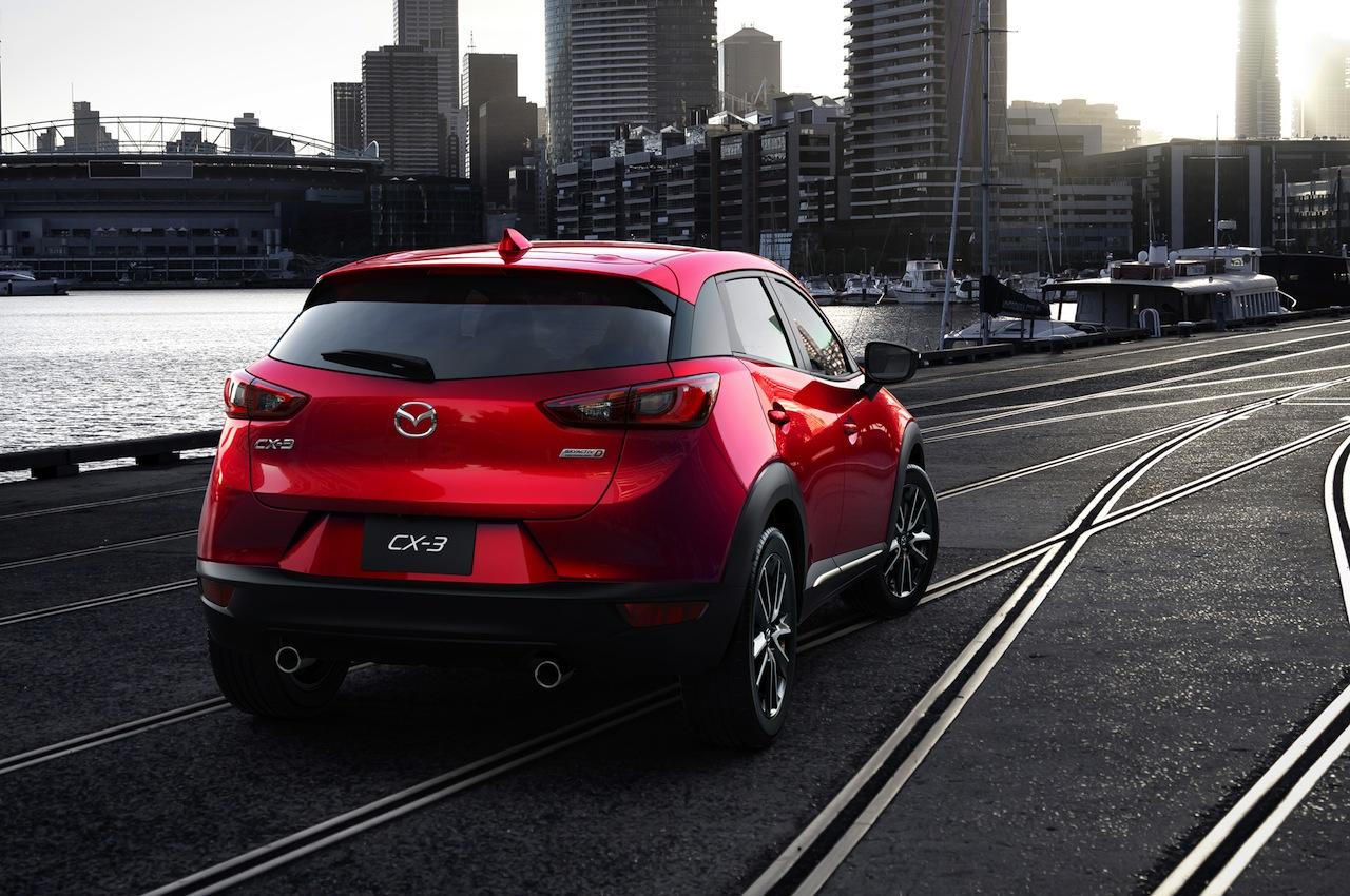 2016 Mazda CX-3 rear angle