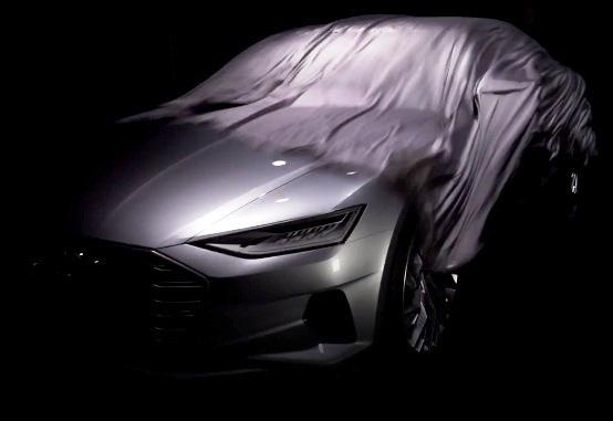 Audi A9 concept teased