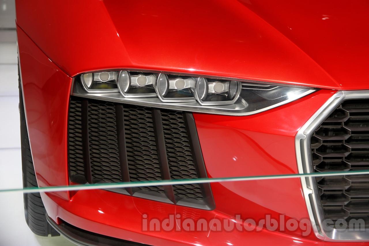 Audi Nanuk Concept headlight at 2014 Guangzhou Auto Show