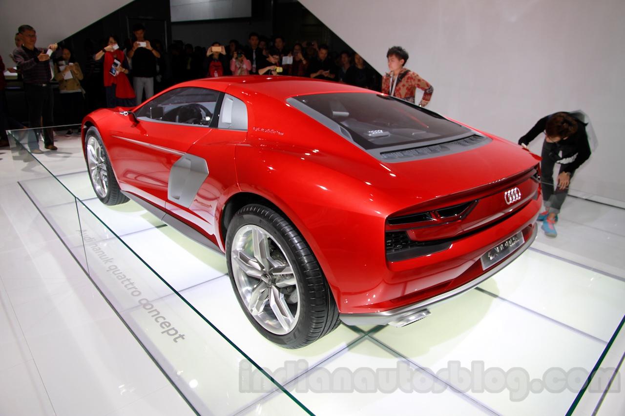 Audi Nanuk Concept rear quarters at 2014 Guangzhou Auto Show