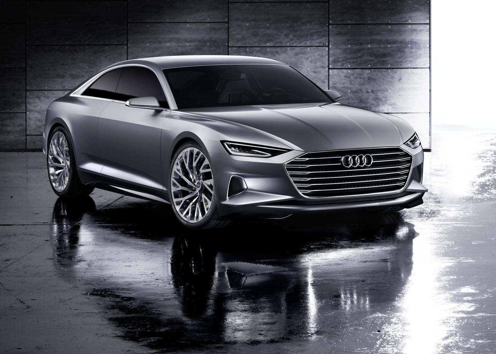 Audi Prologue Concept front quarters